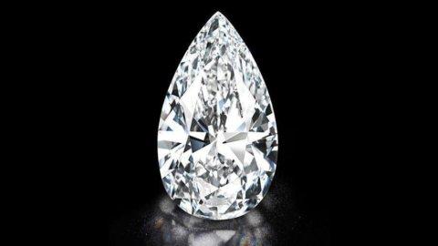 Christie's, all'asta a Ginevra un diamante da 101,73 carati