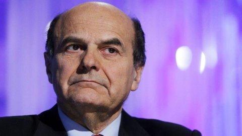 Bersani: Quirinale? Larghissima maggioranza. No a elezioni anticipate
