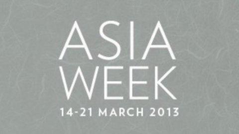 Asia Week, una settimana tutta dedicata all'arte asiatica