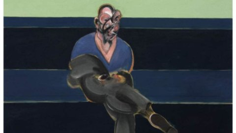 "In mostra ""Study for a Portrait of P.L."" di Bacon valutato 30-40 milioni di dollari"