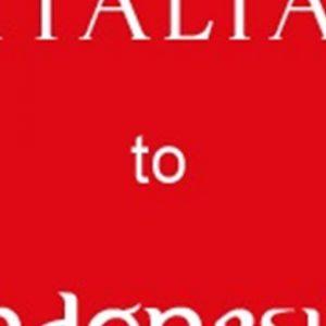 Indonesia, Missione Italiana dal 6 all'8 maggio