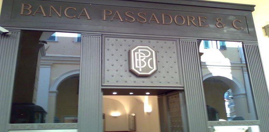 Banca Passadore: salgono utili e raccolta nel 2018