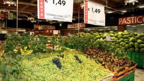 Istat, inflazione luglio stabile all'1,2%