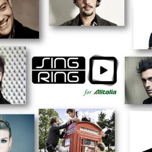 La musica vola su Alitalia con Singring