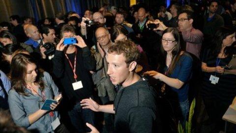Facebook crolla in Borsa: -20% in un mese