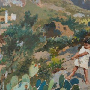 Una mostra della Fondazione Sicilia per i cento anni dalla morte del pittore Antonino Leto