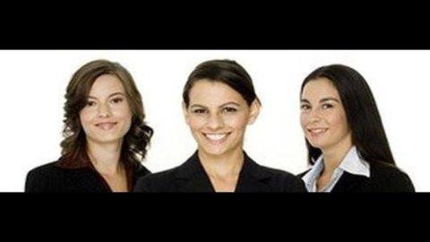 Italia: l'imprenditoria femminile progredisce