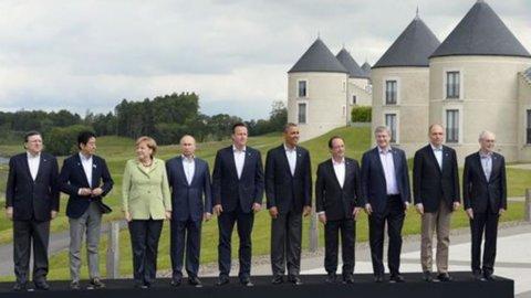 G8, priorità è promuovere crescita e lavoro