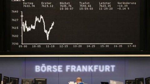 Effetto Fed sulle Borse: Milano perde il 3% e l'Europa un po' di più