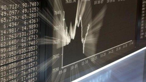 Borsa: giù lo spread e le banche corrono. Vola Finmeccanica, male Fonsai