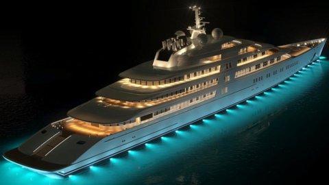 E' Azzam lo yacht più grande del mondo: con i suoi 180 metri ha scavalcato Abramovich