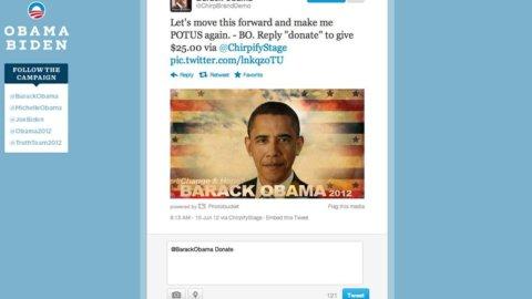 Obama re di Twitter, è il leader più seguito. Nessun italiano nella top 50