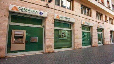 Cariparma, utile netto a 85 milioni (-9 per cento). Ma aumentano i mutui e il numero dei clienti