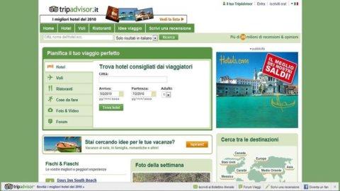 Tripadvisor nel mirino dell'Antitrust: dopo Expedia e Booking, ancora sospetti sui siti di viaggi