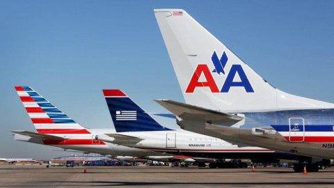 Stop del dipartimento di Giustizia Usa alla fusione American Airlines-UsAirways
