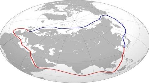 Navigazione: basta Suez, la Cina vuole raggiungere l'Europa via Polo Nord
