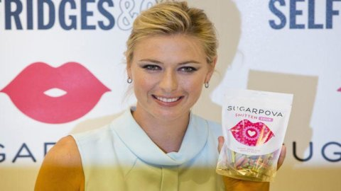Tennis, Us Open: la Sharapova vuole promuovere le sue caramelle e ha chiesto di chiamarsi Sugarpova