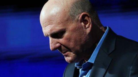 Microsoft, amministratore delegato Steve Ballmer lascerà l'incarico entro 12 mesi