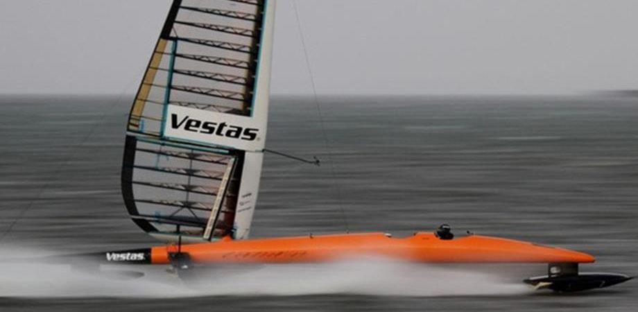 Record di velocità, in Namibia per stabilire il primato a vela sull'acqua