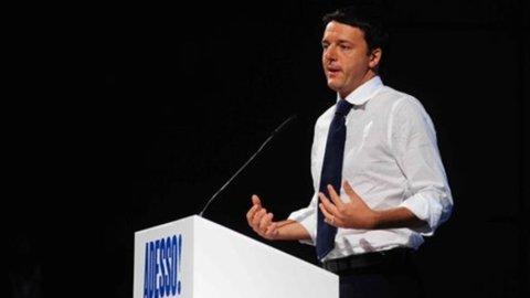 """Pd, Renzi: """"Sono disponibile a fare il segretario"""""""
