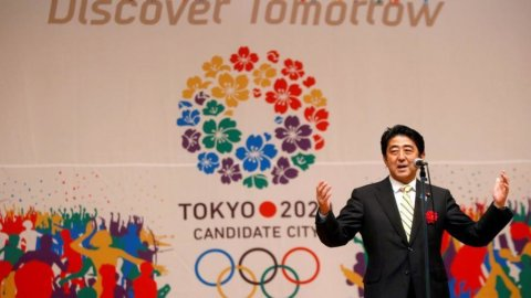 Tokyo si allena per le Olimpiadi 2020