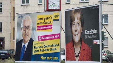 Elezioni politiche in Germania: nessuno schieramento in vantaggio