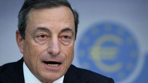 Bce: Draghi, ripresa economica ancora lenta. Se necessario, ancora liquidità con nuovo Ltro