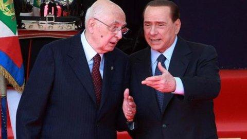 """Napolitano al Pdl: """"Inquietanti pressioni per scioglimento Camere"""""""
