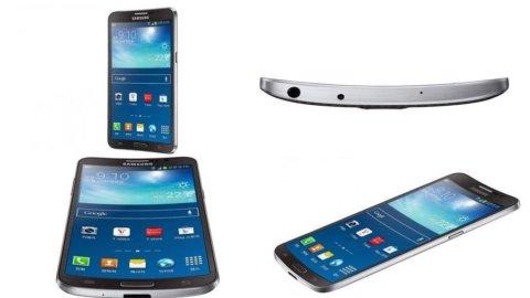 Samsung lancia lo smartphone a schermo curvo