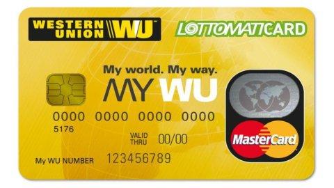 Lottomatica, MasterCard e Western Union lanciano MY WU, una nuova prepagata per gli stranieri