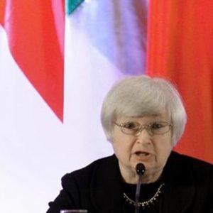 Fed: Yellen, faremo il possibile per sostenere la ripresa mantenendo stabilità dei prezzi