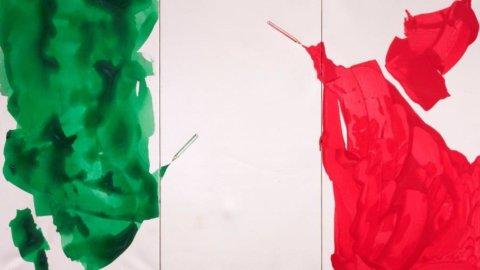 Complesso del Vittoriano, 90 artisti per una bandiera