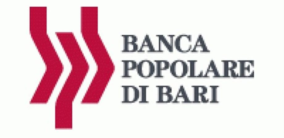 Banca Popolare di Bari, 200 milioni di euro per le Pmi del Mezzogiorno