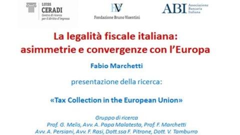 FONDAZIONE VISENTINI – Tasse, quante contraddizioni nella lotta all'evasione fiscale