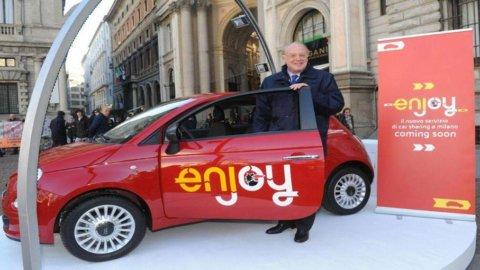 Milano raddoppia il car sharing: arriva quello firmato Fiat-Eni