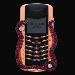 Vertu, il cellulare di lusso da 5 mila euro