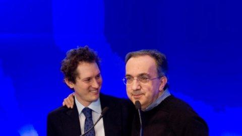 """Fiat, Elkann e Marchionne: """"Non chiuderemo gli stabilimenti, continueremo a investire in Italia"""""""