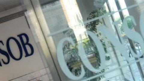 Consob: arriva l'Arbitro per le controversie finanziarie