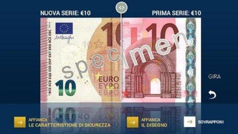Ue: nuovo look e misure di sicurezza per la banconota da 10 euro