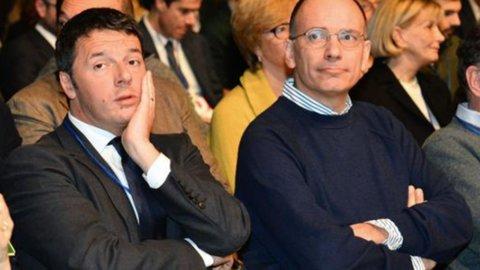 Renzi e Letta come i capponi di Renzo