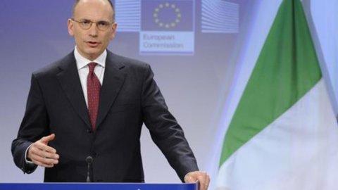 """Letta: """"Dal Kuwait 500 milioni al Fondo strategico italiano"""""""