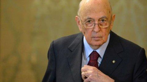 """Napolitano: """"Contrario a voto anticipato"""""""