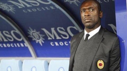 """Lazio-Milan, Seedorf: """"Nessun ultimatum"""""""