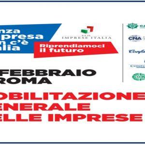 Commercianti, artigiani e piccoli imprenditori: 60 mila in piazza a Roma