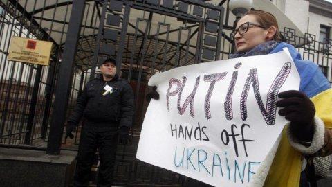 Ucraina, crolla il Pil: -17,6% rispetto a inizio 2014