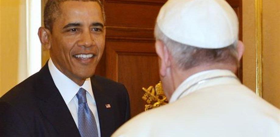 """Obama al Papa: """"Sono un suo grande ammiratore"""", ora il Presidente Usa al Quirinale"""