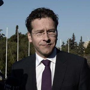 Banche, Dijsselbloem: crisi italiana non è acuta