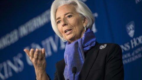 Lagarde: in Italia servono riforme sul mercato del lavoro