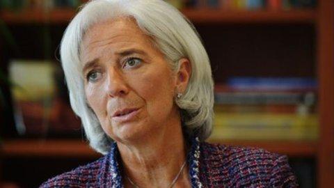 """Fmi: Lagarde, """"rispettiamo Bce, ha la situazione sotto controllo"""""""