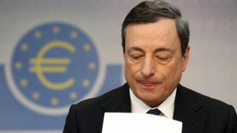 """Bce, Draghi: """"Agiremo se necessario, per ora non c'è rischio di deflazione"""""""